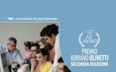 Premio Adriano Olivetti II Edizione dicembre 2016
