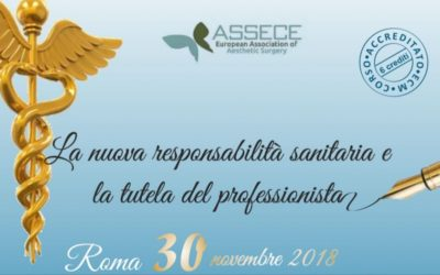30 novembre 2018 Convegno sulla Responsabilità Sanitaria
