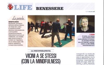 """Articolo sulla Mindfulness – TuttoMilano di """"Repubblica"""""""